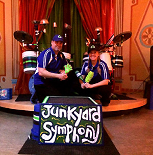 Junkyard Symphony at the Children's Museum