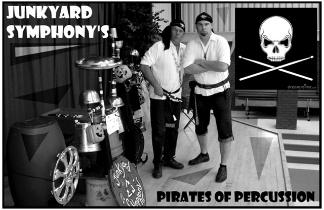 Junkyard Symphony's Pirates of Percussion