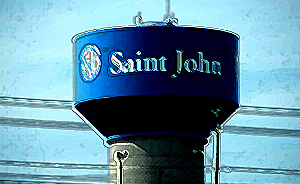 Saint John water tower