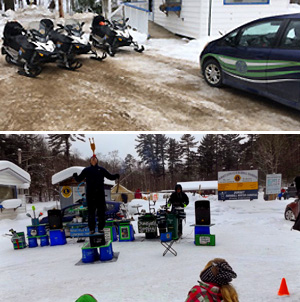Junkyard Symphony's at the Dorset Snowball Winter Carnival
